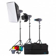 Набор студийного света Mircopro MQ-300S unique kit